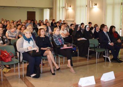 Uczestnicy I Forum Pomocy Społecznej